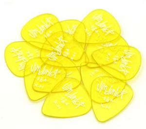 DUNLOP GELS X-HEAVY/YELLOW GUITAR PICKS