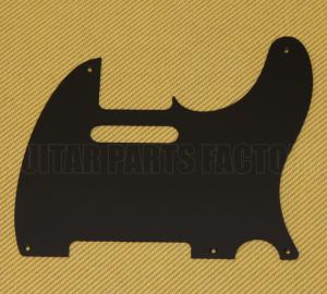 PG-0560-034 Black Matte Pickguard for Telecaster Tele Guitar