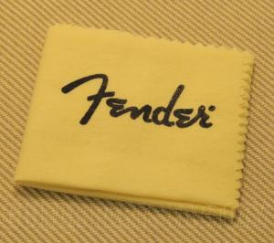099-0400-000 Genuine Fender Treated Logo Guitar/Bass Polishing Cloth 0990400000