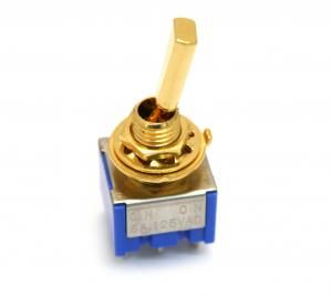 EP-0081-002 Gold Mini Switch On-On