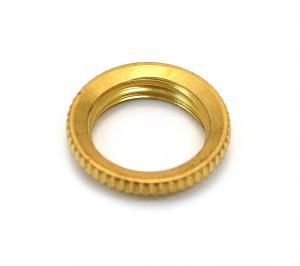 EP-0921-002 Metric Threaded Nut for Toggle Switch - Gold