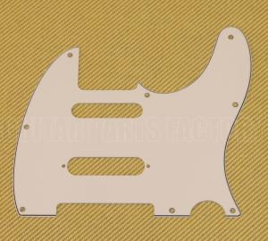 PG-9563-050 Parchment S-Cut Pickguard Nashville for Telecaster