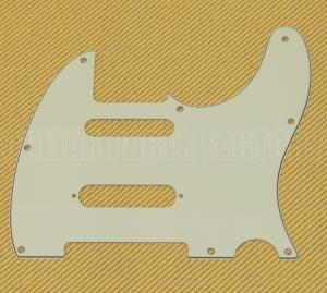 PG-9563-024 3-Ply Mint Nashville Pickguard For Fender Tele S-Cut Telecaster
