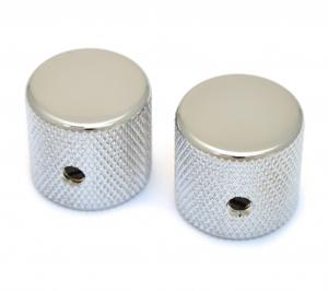 MK-0115-010 Chrome Flat Top Barrel Knobs