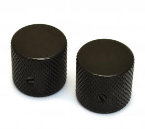 MK-0115-003 Black Flat Top Barrel Knobs