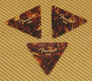 098-0355-10T Fender Thin Tortoise Celluloid 355 Picks 098035510T