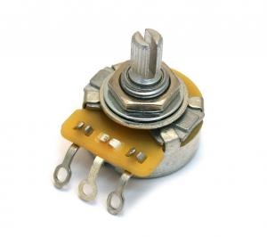 EP-4385-L00 (1) Left Hand CTS 250K Audio Split Shaft Potentiometer Lefty For Guitar