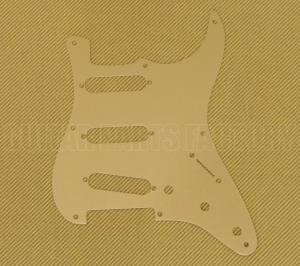 099-2143-000 Genuine Fender Gold Anodized '57 Strat Pickguard 0992143000
