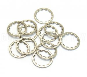 001-6436-049 Set of 12 Fender Nickel Guitar/Bass Potentiometer Locking Washers