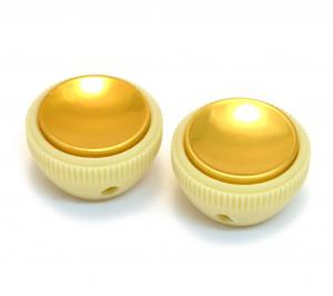 PK-3280-000 Set of 2 Vintage Style Teacup Knobs for Hofner Guitar or Bass