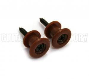 GSP-BR Grover Plastic Brown Strap Buttons