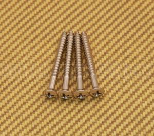 SCR-IN-N (4) Nickel Short Neck Screws #8 x 1-1/2""