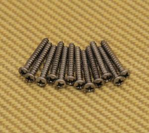 002-1422-049 12 Genuine Fender Stainless USA Bass & Telecaster Bridge Mounting Screws 0021422049