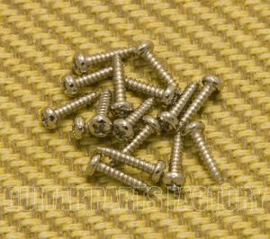GS-3376-SN Nickel Phillips Short Guitar or Bass Tuner Mounting Screws