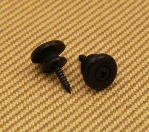 EOSB-B Black Large Oversized Guitar/Bass Strap Buttons
