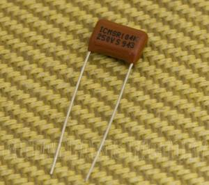 002-1022-000 Fender Poly .1uf Capacitor '62 P Bass 0021022000