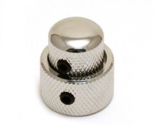 MK-0138-010 Chrome Mini Concentric Stacked Knob