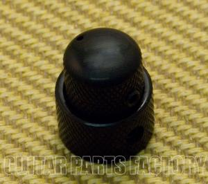 MK-0138-003 Concentric Stacked Mini Black Knob for Bass/Guitar
