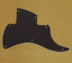 006-0741-000 Fender Black Strat-O-Sonic Pickguard 2 Pickup