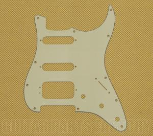 005-4021-049 Genuine Fender H/S/S 3-ply Mint Stratocaster/Fat Strat Pickguard 0054021049