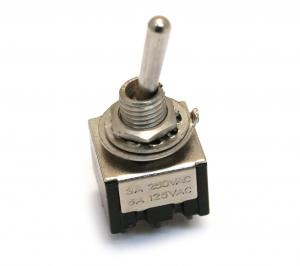 RP192N Nickel Mini Switch On-Off-On