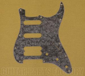 099-2146-000 Fender Strat® H/S/S Black Pearl Pickguard Ultra Series 11-Hole 4Ply