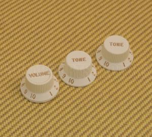 005-9266-PSET Fender Strat S1 S-1 Switching Deluxe Guitar Knob Set Parchment 0059266PSET
