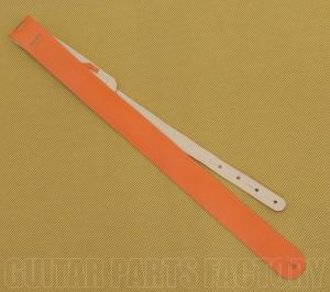 AL-L2-O 2 Inch Alexis Orange Sugar 'N Spice Pleather Guitar/Bass Strap