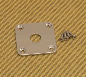 FSJP-N Nickel Flat Square Metal Jack Plate