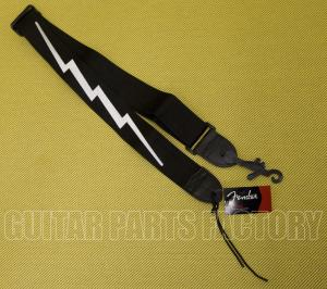 099-0613-106 Genuine Fender® 2inch Poly Lightning Bolt Guitar/Bass Strap 0990613106