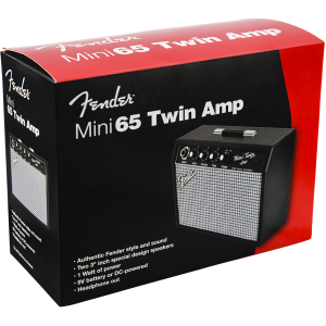 023-4812-000 Fender Mini 65 Twin Portable Guitar Amp Battery Powered 0234812000