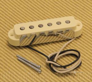 005-4491-000 Fender Aged White AVRI USA Jaguar Guitar Neck Pickup 0054491000