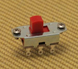 EP-0260-026 On-On Red Button Slide Switch for Fender Jaguar/Jazzmaster® Guitar