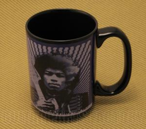 910-0282-000 Genuine Fender Guitar Jimmy Hendrix Purple Coffee Mug
