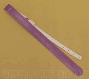 AL-L2-P 2 Inch LM Products Alexis Purple Pleather Guitar/Bass Strap