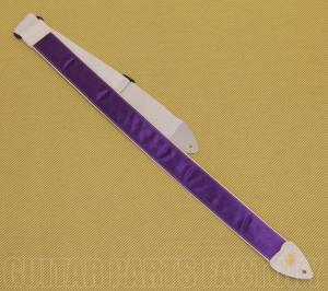 AL-S-P 2 Inch LM Products Alexis Purple Satin Guitar Strap Guitar/Bass