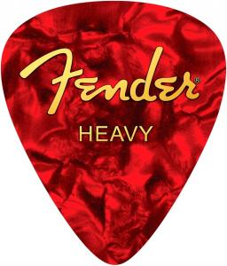 910-0570-107 Fender Heavy Pick Mouse Pad Red  9100570107