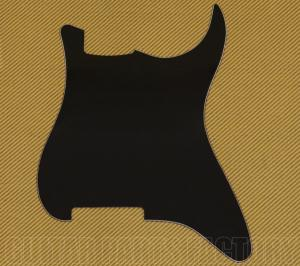 PG-0992-033 Black Blank Outline for Stratocaster Guitar Pickguard