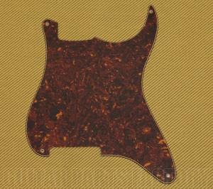 PG-0992-043 Blank Tortoise Outline Pickguard for Stratocaster Guitar