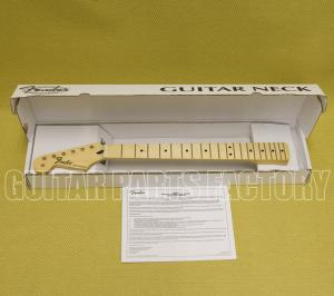 099-4622-921 Fender Standard Series Stratocaster® LH Neck, 21 Medium Jumbo Frets, Maple 0994622921