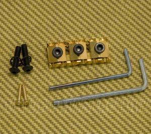 099-6807-200 Fender by Schaller Locking Gold R2 #7 Nut w/ Wrenches
