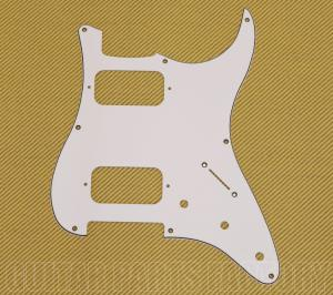 005-5436-000 Genuine Fender 3-Ply White Double Fat Pickguard For Squier Strat