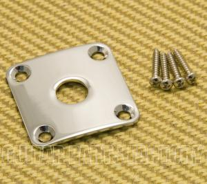 CSJP-C Curved Chrome Jack Plate for Les Paul®