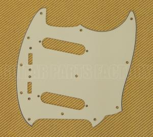PG-0581-024 Mint 3-ply Pickguard for Vintage USA Fender Mustang