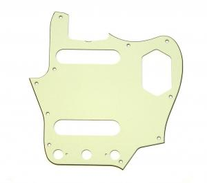 005-4489-000 Genuine Fender American Vintage '62 Jaguar 3-ply Mint Pickguard 0054489000