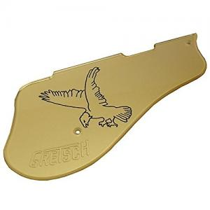 006-2670-000 Gretsch Pickguard, G6136 White Falcon Cut For Filter'Tron Pickups, Gold 0062670000