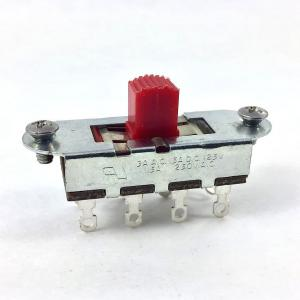 EP-0261-026 Switchcraft (1) Red Button 3-way Slide Switch for Fender Mustang® Guitar