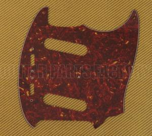 PG-0581-044 Red Tortoise Pickguard For USA Fender Mustang