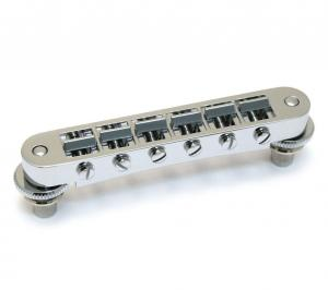 GB-0540-010 Schaller Chrome Nashville Tune-O-Matic Bridge Gibson Les Paul/SG® GTM
