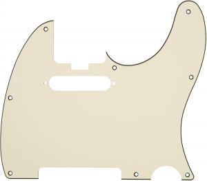099-2193-003 Fender Elite Parchment 3-Ply Tele Guitar Pickguard 0992193003